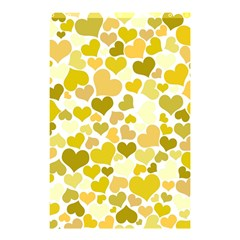 Heart 2014 0905 Shower Curtain 48  x 72  (Small)