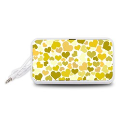 Heart 2014 0905 Portable Speaker (White)