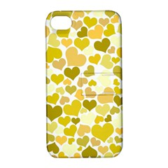 Heart 2014 0905 Apple Iphone 4/4s Hardshell Case With Stand