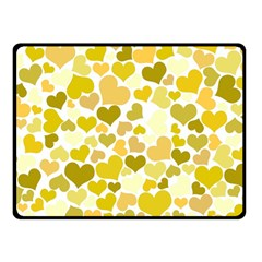Heart 2014 0905 Double Sided Fleece Blanket (Small)