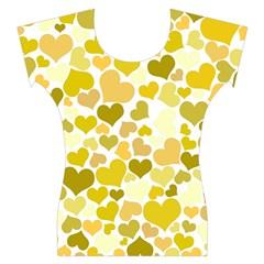 Heart 2014 0905 Women s Cap Sleeve Top