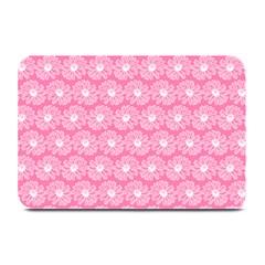 Pink Gerbera Daisy Vector Tile Pattern Plate Mats