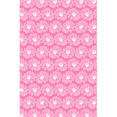 Pink Gerbera Daisy Vector Tile Pattern 5.5  x 8.5  Notebooks