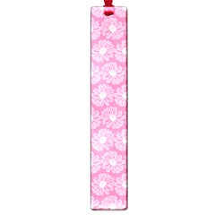 Pink Gerbera Daisy Vector Tile Pattern Large Book Marks