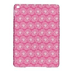 Pink Gerbera Daisy Vector Tile Pattern Ipad Air 2 Hardshell Cases