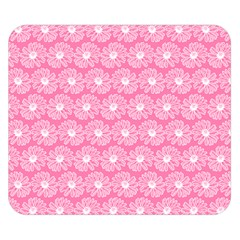 Pink Gerbera Daisy Vector Tile Pattern Double Sided Flano Blanket (Small)