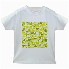 Heart 2014 0906 Kids White T Shirts