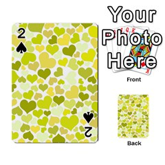 Heart 2014 0906 Playing Cards 54 Designs