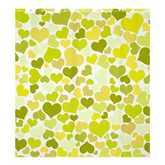 Heart 2014 0906 Shower Curtain 66  X 72  (large)