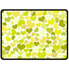 Heart 2014 0906 Fleece Blanket (large)