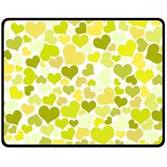 Heart 2014 0906 Fleece Blanket (Medium)