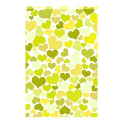 Heart 2014 0906 Shower Curtain 48  x 72  (Small)