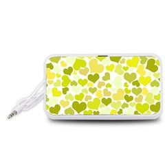 Heart 2014 0906 Portable Speaker (White)