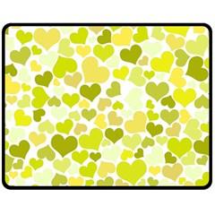 Heart 2014 0906 Double Sided Fleece Blanket (Medium)
