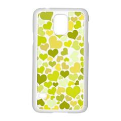 Heart 2014 0906 Samsung Galaxy S5 Case (white)