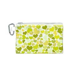Heart 2014 0906 Canvas Cosmetic Bag (S)