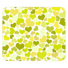 Heart 2014 0906 Double Sided Flano Blanket (Small)