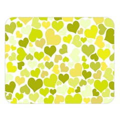 Heart 2014 0906 Double Sided Flano Blanket (Large)