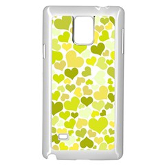 Heart 2014 0906 Samsung Galaxy Note 4 Case (white)