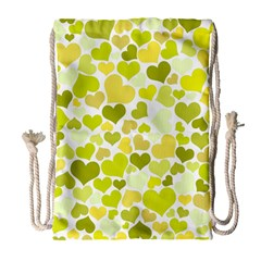 Heart 2014 0906 Drawstring Bag (Large)