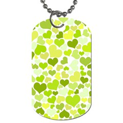 Heart 2014 0907 Dog Tag (one Side)