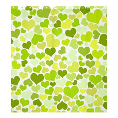 Heart 2014 0907 Shower Curtain 66  x 72  (Large)