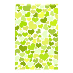 Heart 2014 0907 Shower Curtain 48  x 72  (Small)