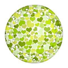 Heart 2014 0907 Ornament (round Filigree)