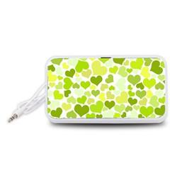 Heart 2014 0907 Portable Speaker (white)