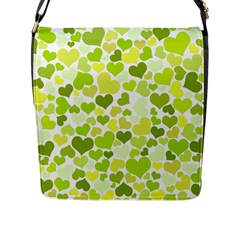 Heart 2014 0907 Flap Messenger Bag (l)