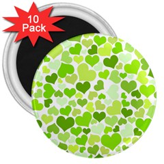Heart 2014 0908 3  Magnets (10 Pack)