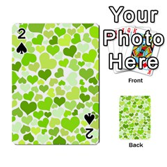 Heart 2014 0908 Playing Cards 54 Designs