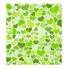 Heart 2014 0908 Shower Curtain 66  x 72  (Large)