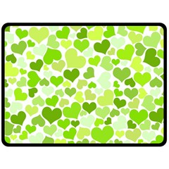 Heart 2014 0908 Fleece Blanket (Large)
