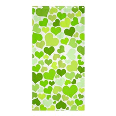 Heart 2014 0908 Shower Curtain 36  x 72  (Stall)