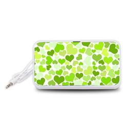 Heart 2014 0908 Portable Speaker (White)