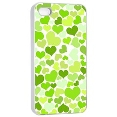 Heart 2014 0908 Apple Iphone 4/4s Seamless Case (white)