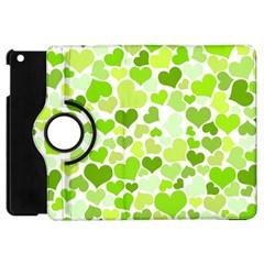 Heart 2014 0908 Apple Ipad Mini Flip 360 Case