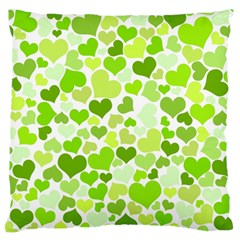 Heart 2014 0908 Large Flano Cushion Cases (Two Sides)