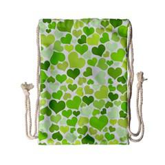 Heart 2014 0908 Drawstring Bag (Small)