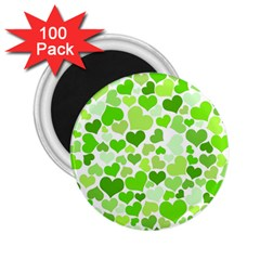 Heart 2014 0909 2 25  Magnets (100 Pack)