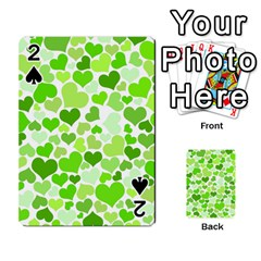 Heart 2014 0909 Playing Cards 54 Designs