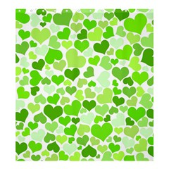 Heart 2014 0909 Shower Curtain 66  x 72  (Large)