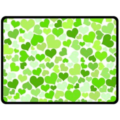 Heart 2014 0909 Fleece Blanket (Large)