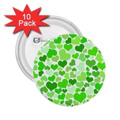 Heart 2014 0910 2 25  Buttons (10 Pack)