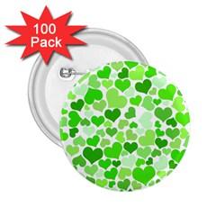 Heart 2014 0910 2 25  Buttons (100 Pack)