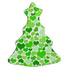 Heart 2014 0910 Christmas Tree Ornament (2 Sides)