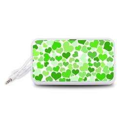 Heart 2014 0910 Portable Speaker (White)