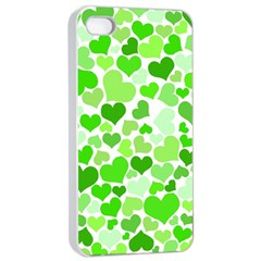 Heart 2014 0910 Apple Iphone 4/4s Seamless Case (white)