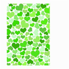 Heart 2014 0910 Small Garden Flag (two Sides)